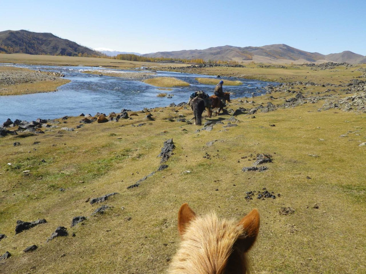 JOurney by horse in Mongolia