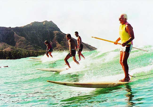 Storia del SUP hawaii