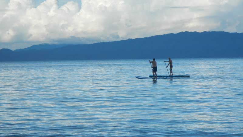 Sup touring, passeggiata in Stand Up Paddle